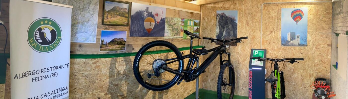 bike room aquila nera