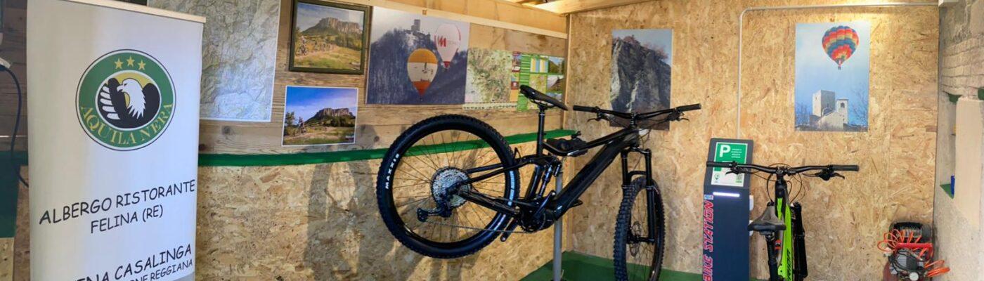 bike room aquila nera